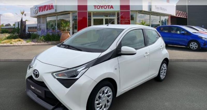 Toyota Aygo 1.0 VVT-i 72ch x-play 5p Blanc occasion à Royan