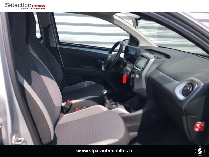 Toyota Aygo 1.0 VVT-i 72ch x-play 5p Gris occasion à Le Bouscat - photo n°5