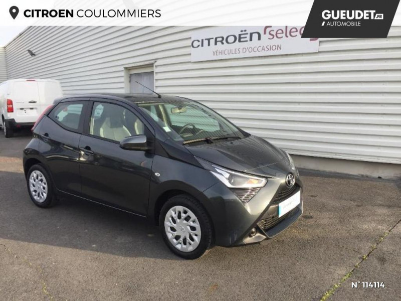 Toyota Aygo 1.0 VVT-i 72ch x-play 5p Gris occasion à Coulommiers