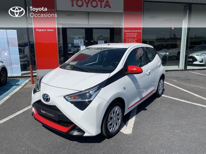 Toyota Aygo 1.0 VVT-i 72ch x-play x-app 5p MC18 Blanc occasion à CASTRES - photo n°17
