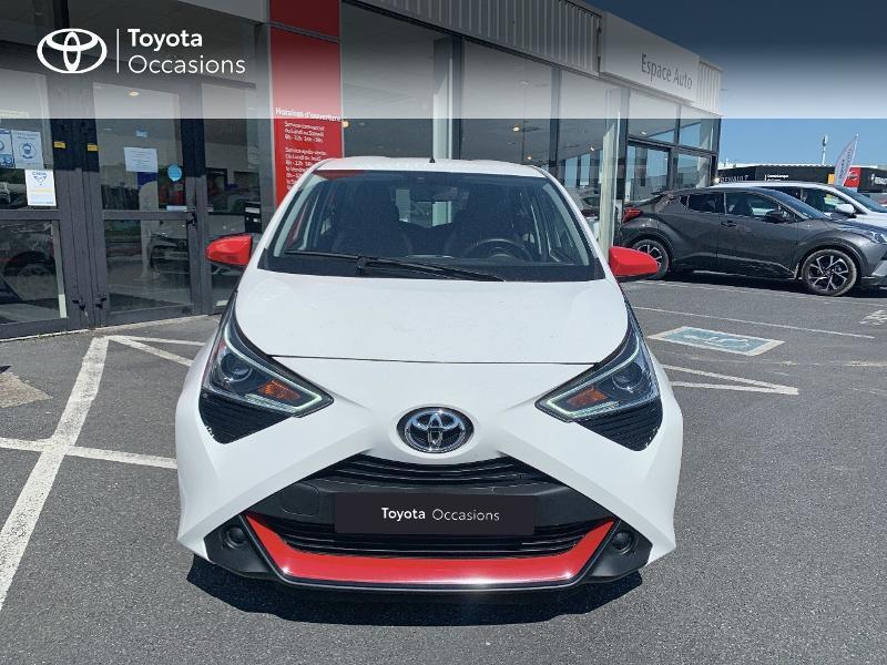 Toyota Aygo 1.0 VVT-i 72ch x-play x-app 5p MC18 Blanc occasion à CASTRES - photo n°5
