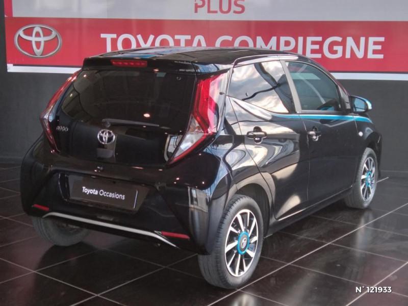 Toyota Aygo 1.0 VVT-i 72ch x-trend 5p Noir occasion à Jaux - photo n°6