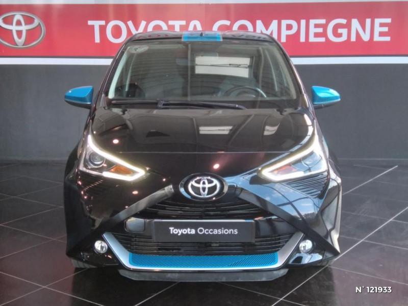Toyota Aygo 1.0 VVT-i 72ch x-trend 5p Noir occasion à Jaux - photo n°2