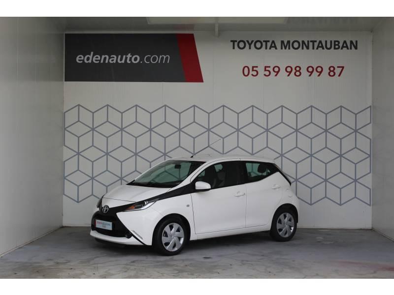 Toyota Aygo 1.0 VVT-i x-play Blanc occasion à Montauban