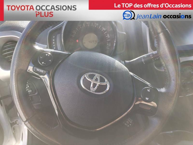 Toyota Aygo Aygo 1.0 VVT-i x-play 5p Blanc occasion à Tournon - photo n°12