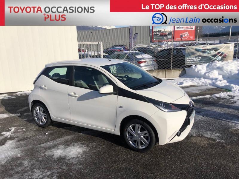 Toyota Aygo Aygo 1.0 VVT-i x-play 5p Blanc occasion à Tournon - photo n°3