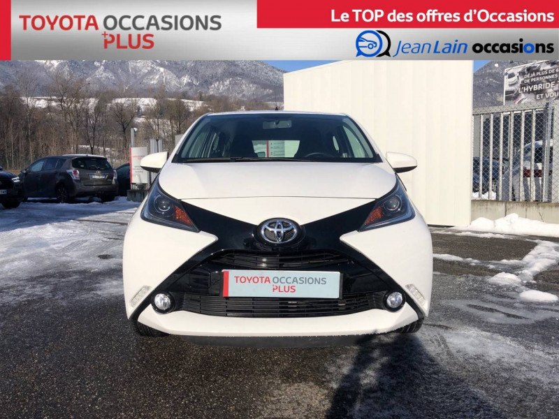 Toyota Aygo Aygo 1.0 VVT-i x-play 5p Blanc occasion à Tournon - photo n°2