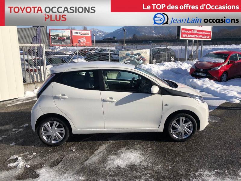 Toyota Aygo Aygo 1.0 VVT-i x-play 5p Blanc occasion à Tournon - photo n°4