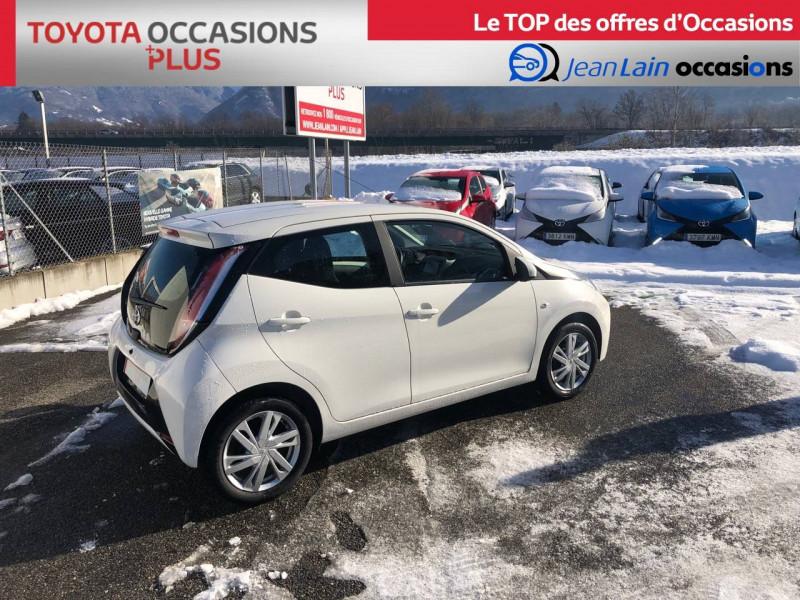 Toyota Aygo Aygo 1.0 VVT-i x-play 5p Blanc occasion à Tournon - photo n°5