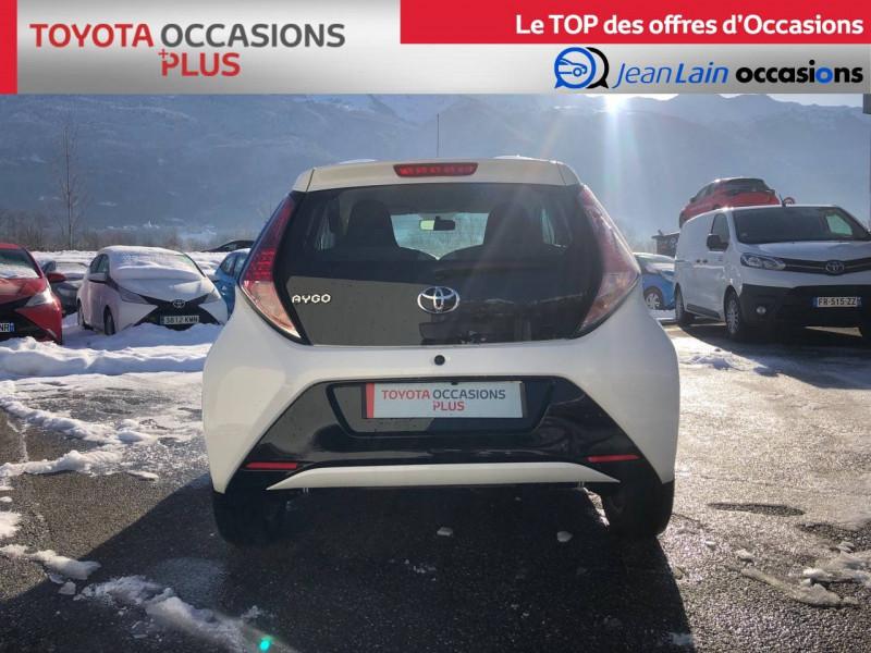 Toyota Aygo Aygo 1.0 VVT-i x-play 5p Blanc occasion à Tournon - photo n°6