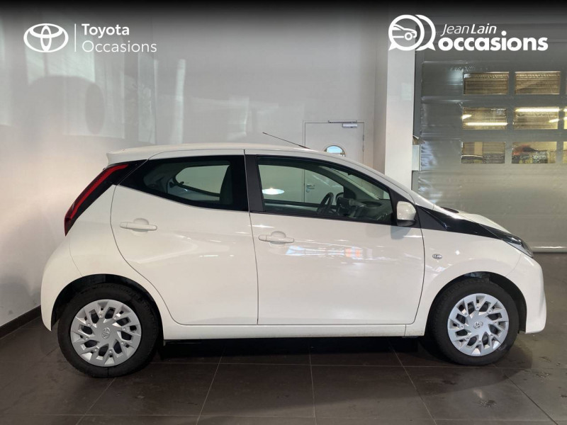 Toyota Aygo Aygo 1.0 VVT-i x-play 5p Blanc occasion à Seynod - photo n°4