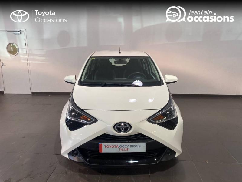 Toyota Aygo Aygo 1.0 VVT-i x-play 5p Blanc occasion à Seynod - photo n°2