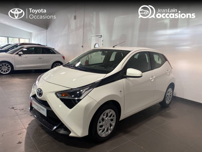 Toyota Aygo Aygo 1.0 VVT-i x-play 5p Blanc occasion à Seynod