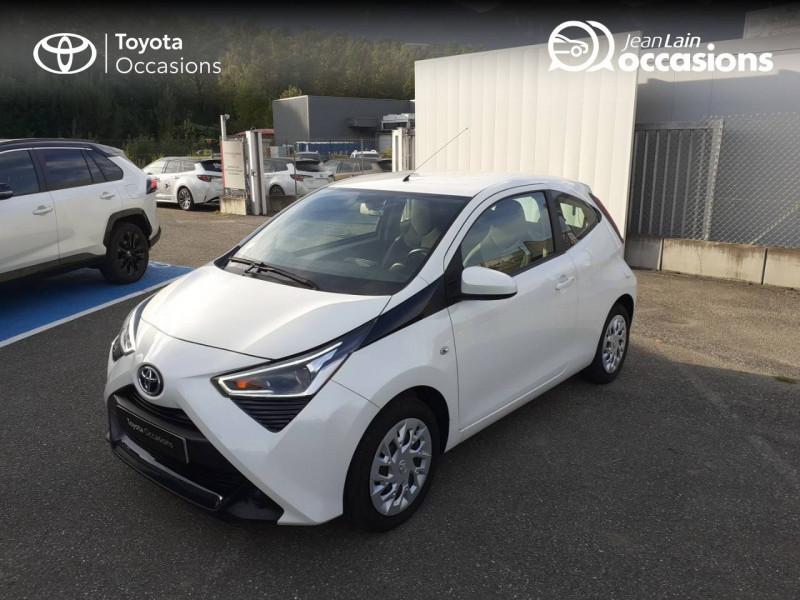 Toyota Aygo Aygo 1.0 VVT-i x-play app 3p Blanc occasion à Tournon