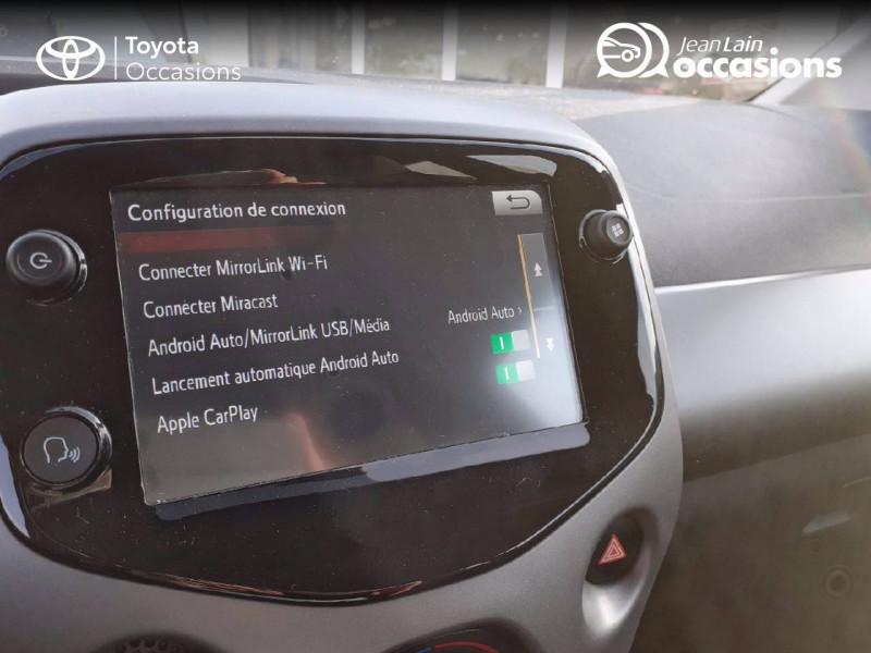 Toyota Aygo Aygo 1.0 VVT-i x-play app 3p Blanc occasion à Tournon - photo n°15