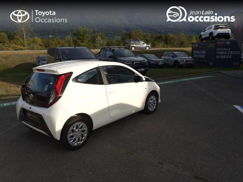 Toyota Aygo Aygo 1.0 VVT-i x-play app 3p Blanc occasion à Tournon - photo n°5