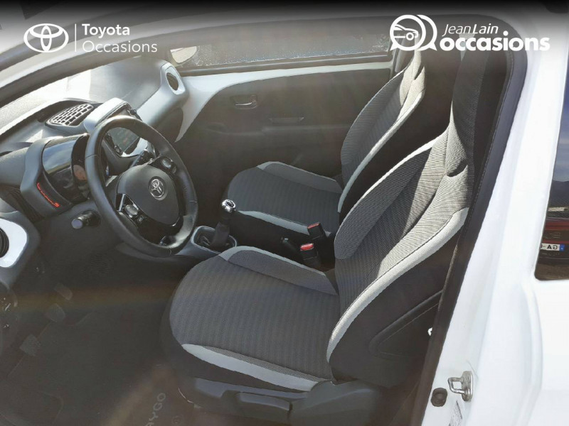 Toyota Aygo Aygo 1.0 VVT-i x-play app 3p Blanc occasion à Tournon - photo n°11