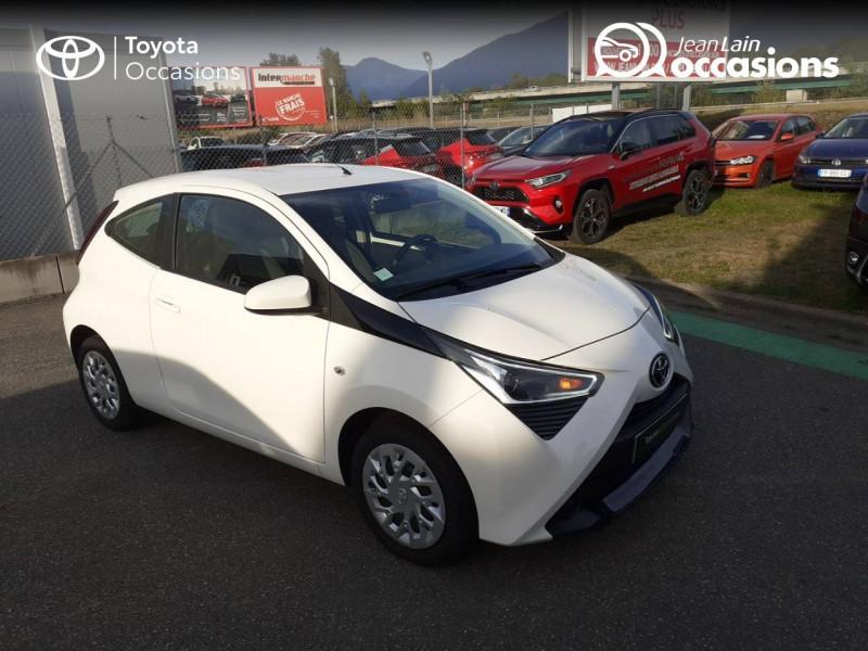Toyota Aygo Aygo 1.0 VVT-i x-play app 3p Blanc occasion à Tournon - photo n°3