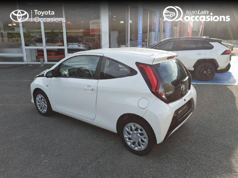 Toyota Aygo Aygo 1.0 VVT-i x-play app 3p Blanc occasion à Tournon - photo n°7