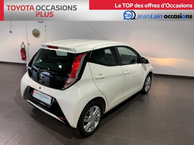 Toyota Aygo Aygo 1.0 x-play 5p Blanc occasion à Seynod - photo n°5