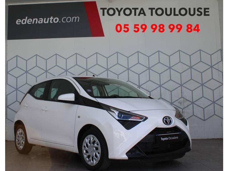 Toyota Aygo MC18 1.0 VVT-i x-play Blanc occasion à Toulouse