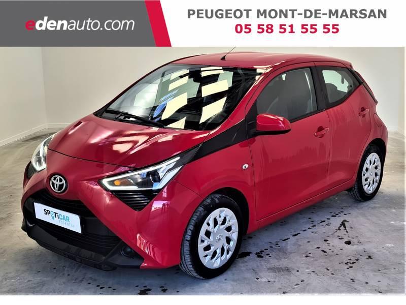 Toyota Aygo MC18 1.0 VVT-i x-play Rouge occasion à Saint-Pierre-du-Mont