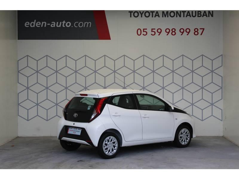 Toyota Aygo MC18 1.0 VVT-i x-play Blanc occasion à Montauban - photo n°2