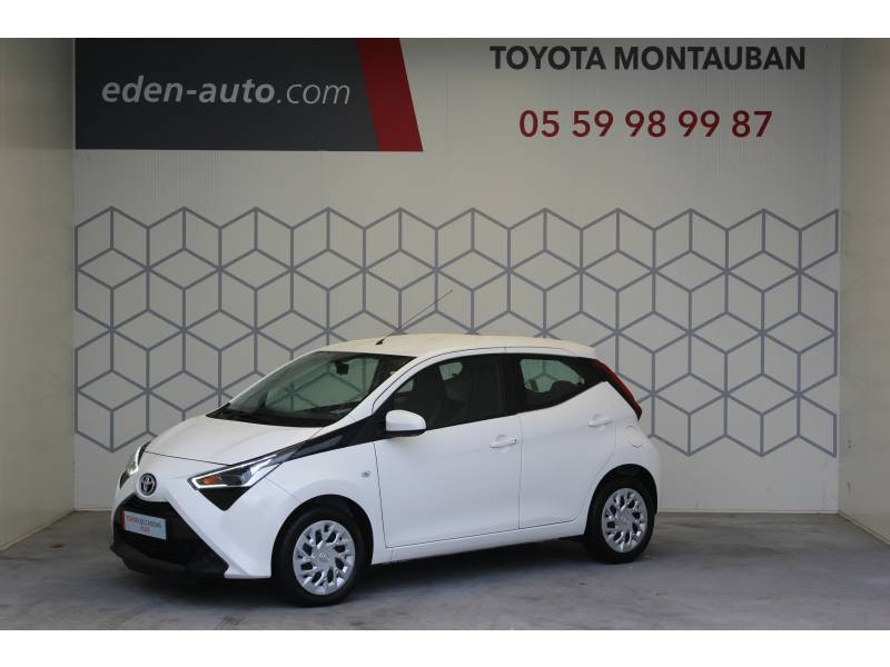 Toyota Aygo MC18 1.0 VVT-i x-play Blanc occasion à Montauban