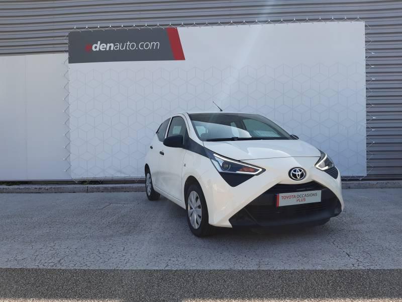 Toyota Aygo PRO MC18 1.0 VVT-i x Blanc occasion à Brive-la-Gaillarde