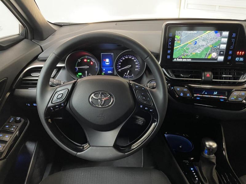 Toyota C-HR 1.8 Hybrid 122 H CVT  Dynamic Business Gris occasion à Lormont - photo n°7