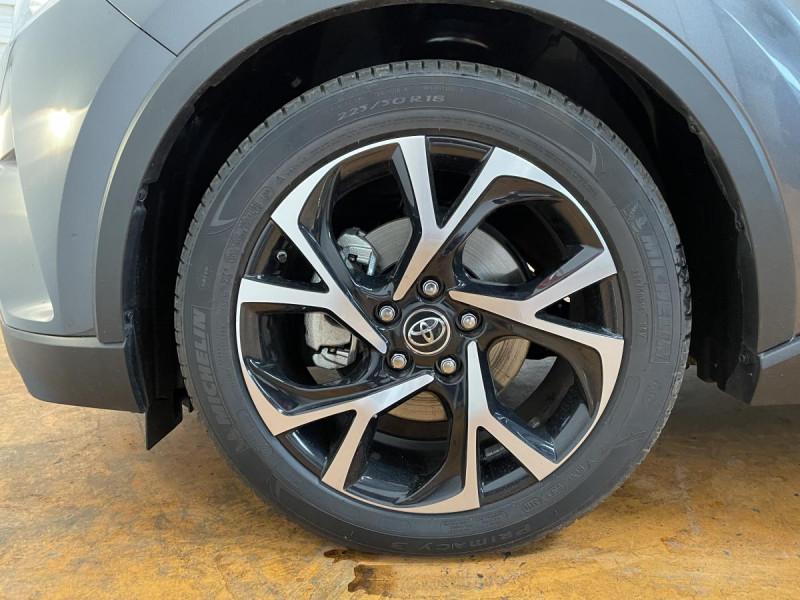 Toyota C-HR 1.8 Hybrid 122 H CVT  Dynamic Business Gris occasion à Lormont - photo n°20