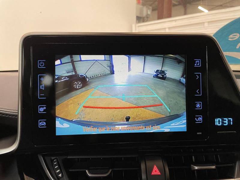 Toyota C-HR 1.8 Hybrid 122 H CVT  Dynamic Business Gris occasion à Lormont - photo n°10