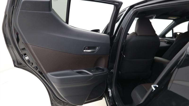 Toyota C-HR 1.8 Hybrid 122ch Automatique/ Distinctive Noir occasion à SAINT-GREGOIRE - photo n°19