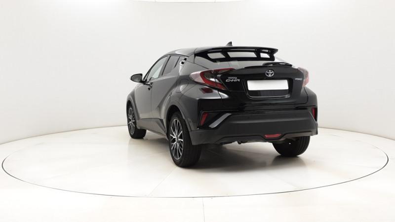 Toyota C-HR 1.8 Hybrid 122ch Automatique/ Distinctive Noir occasion à SAINT-GREGOIRE - photo n°4