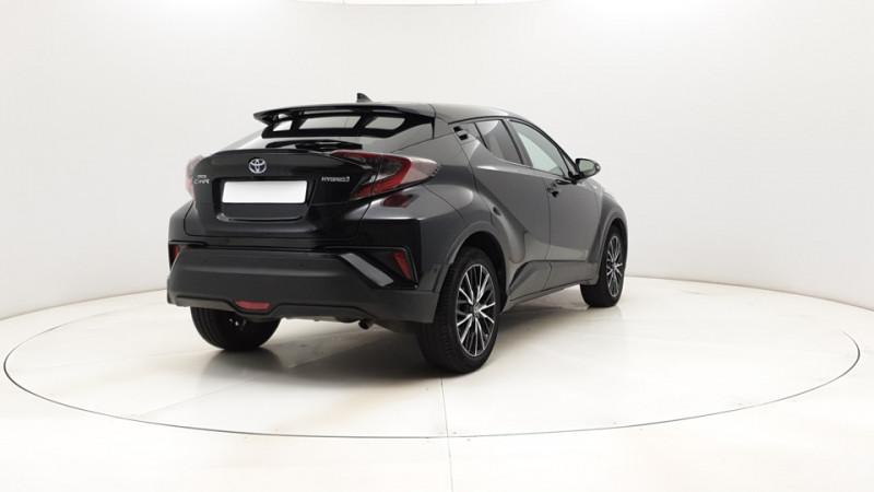 Toyota C-HR 1.8 Hybrid 122ch Automatique/ Distinctive Noir occasion à SAINT-GREGOIRE - photo n°6