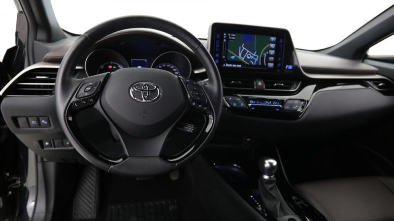 Toyota C-HR 1.8 Hybrid 122ch Automatique/ Distinctive Noir occasion à SAINT-GREGOIRE - photo n°12