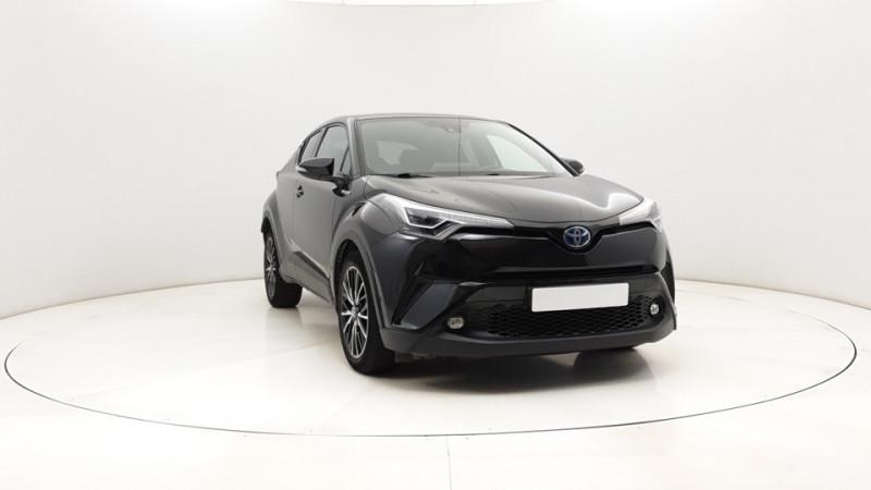 Toyota C-HR 1.8 Hybrid 122ch Automatique/ Distinctive Noir occasion à SAINT-GREGOIRE - photo n°10