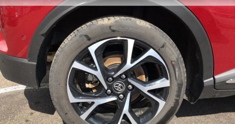 Toyota C-HR 122h Collection 2WD E-CVT RC18 Rouge occasion à Colmar - photo n°4