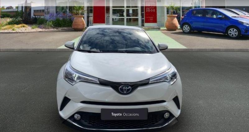 Toyota C-HR 122h Distinctive 2WD E-CVT RC18 Blanc occasion à Royan - photo n°5