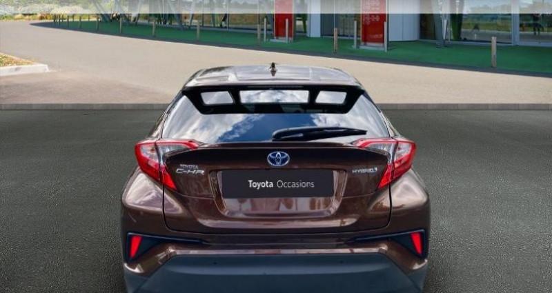 Toyota C-HR 122h Distinctive 2WD E-CVT Bronze occasion à Tours - photo n°4