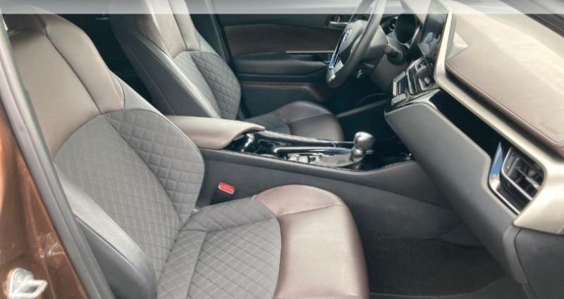 Toyota C-HR 122h Distinctive 2WD E-CVT Bronze occasion à Tours - photo n°6