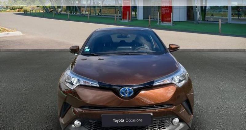 Toyota C-HR 122h Distinctive 2WD E-CVT Bronze occasion à Tours - photo n°5