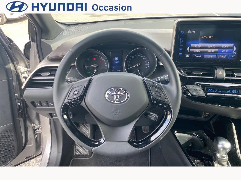Toyota C-HR 122h Distinctive 2WD E-CVT Gris occasion à CASTRES - photo n°13