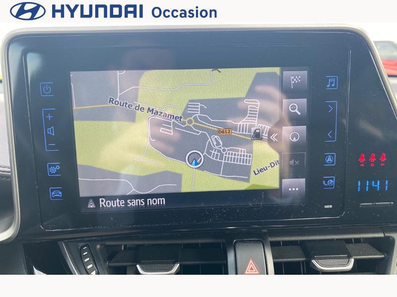 Toyota C-HR 122h Distinctive 2WD E-CVT Gris occasion à CASTRES - photo n°15