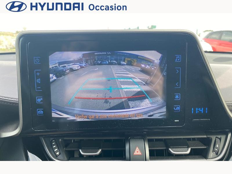Toyota C-HR 122h Distinctive 2WD E-CVT Gris occasion à CASTRES - photo n°16