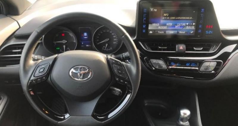Toyota C-HR 122h Dynamic 2WD E-CVT Bleu occasion à LA RAVOIRE - photo n°7