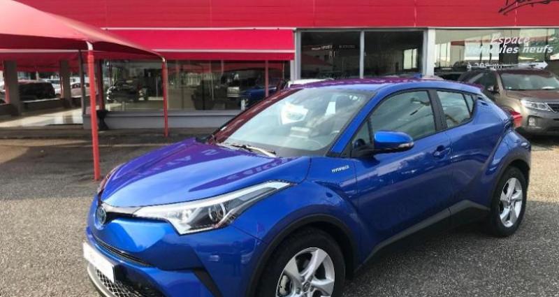 Toyota C-HR 122h Dynamic 2WD E-CVT Bleu occasion à LA RAVOIRE