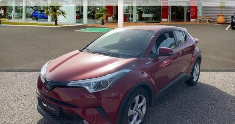 Toyota C-HR 122h Dynamic 2WD E-CVT Rouge occasion à Laxou