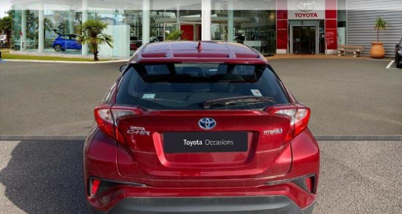 Toyota C-HR 122h Dynamic 2WD E-CVT Rouge occasion à Laxou - photo n°4