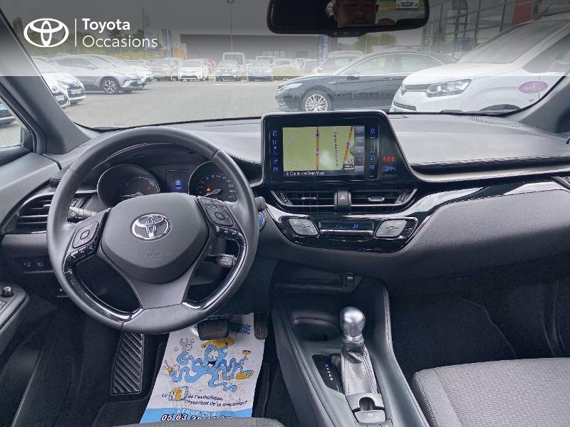 Toyota C-HR 122h Dynamic 2WD E-CVT Gris occasion à Albi - photo n°8